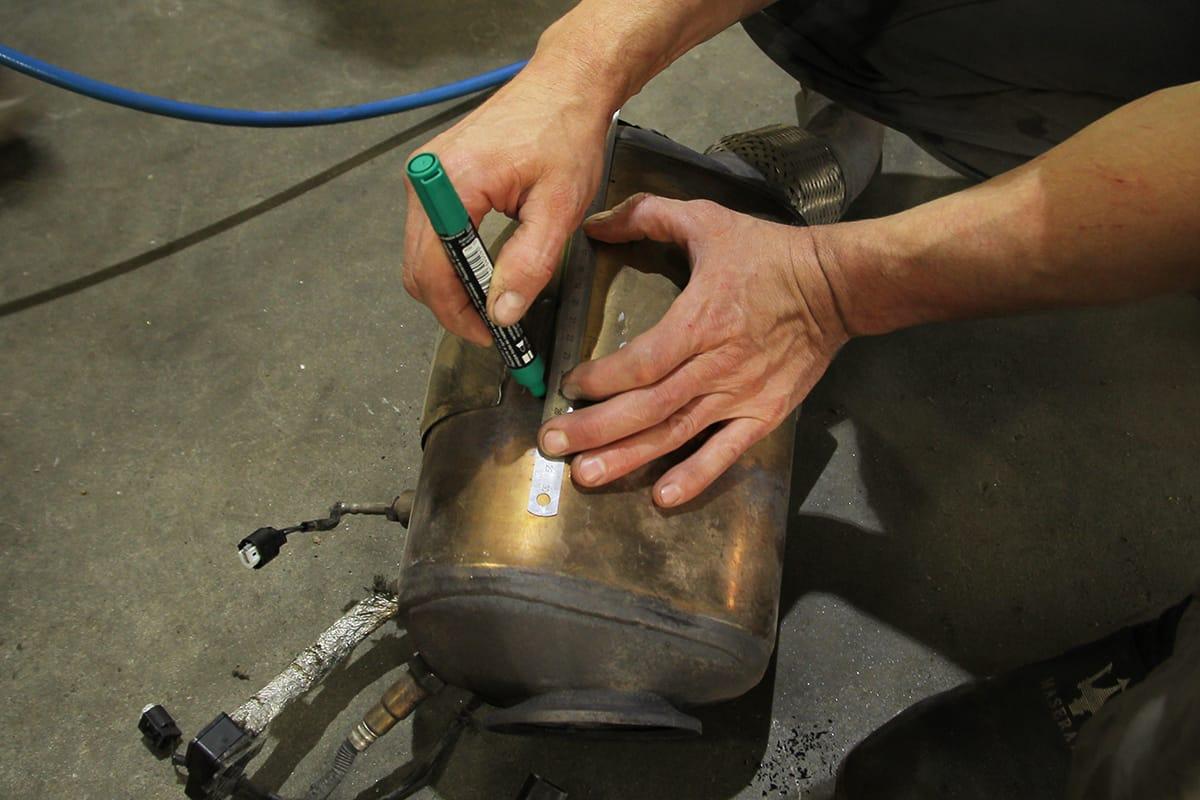 Как удалить сажевый фильтр своими руками