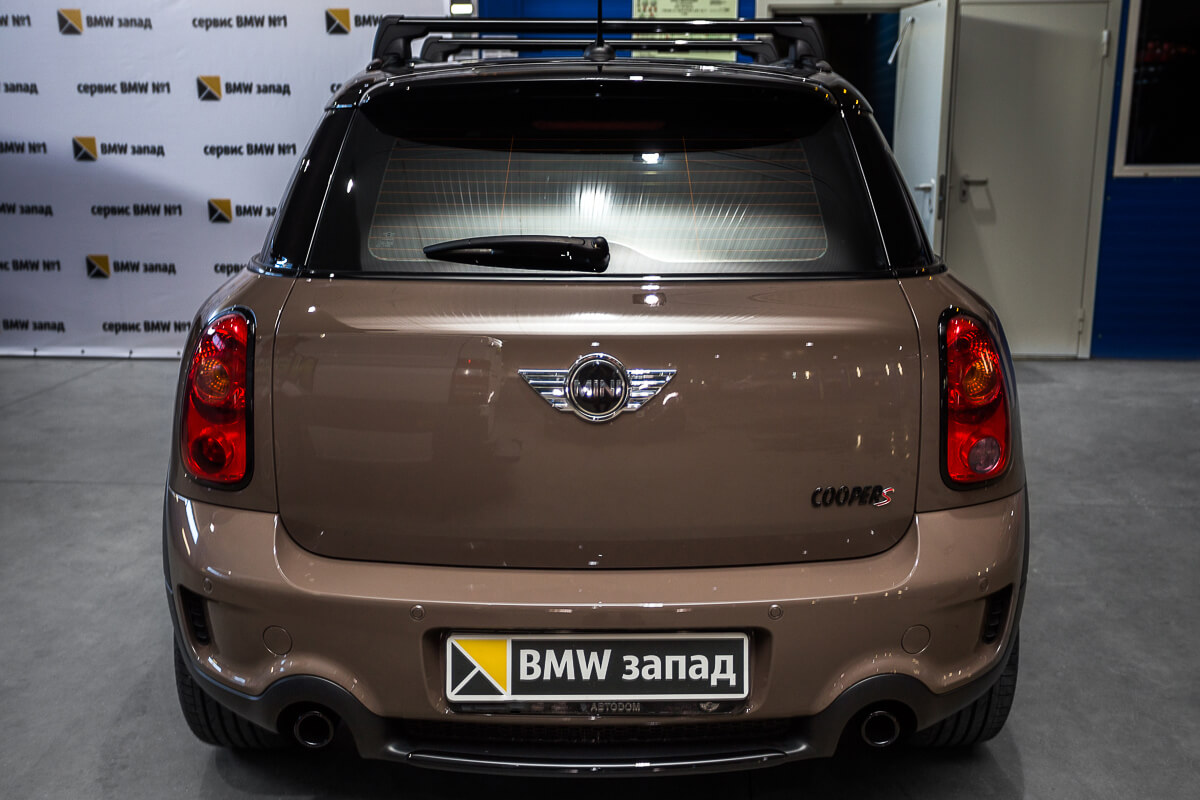 Mini Cooper S Countryman All4 сзади