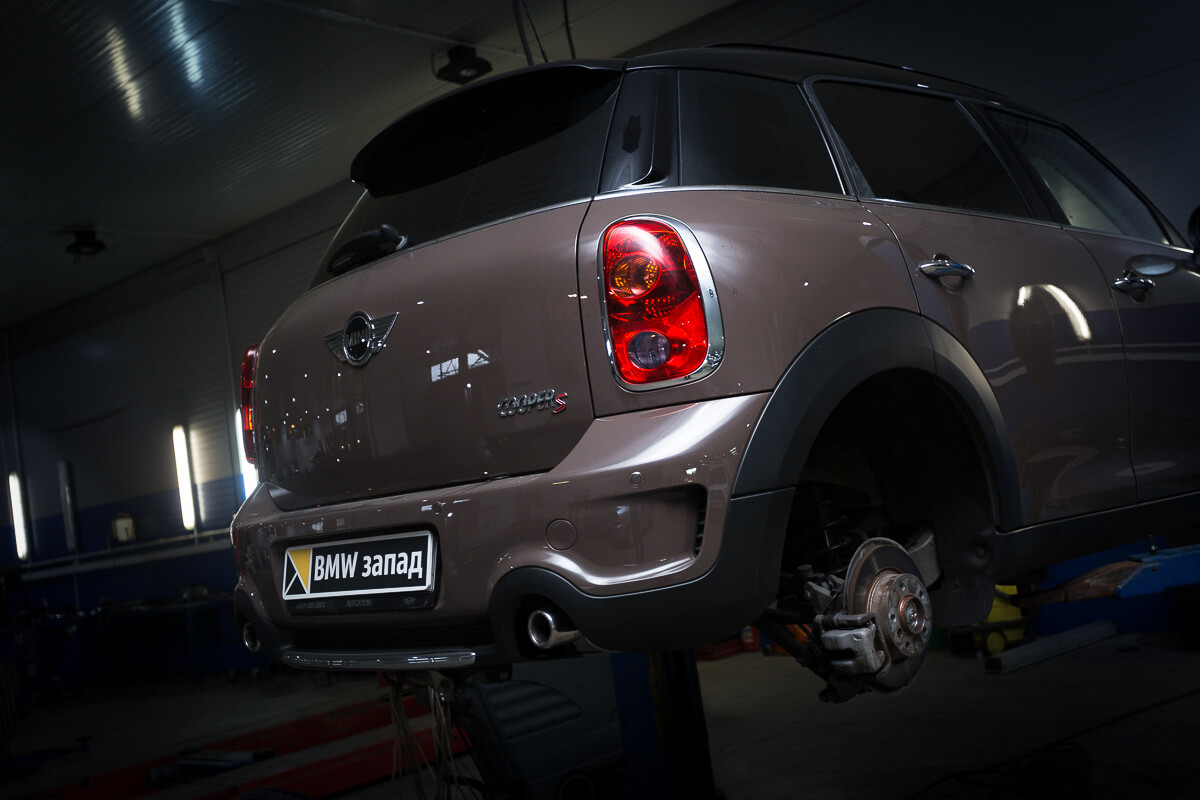 ремонт Mini Cooper S Countryman All4