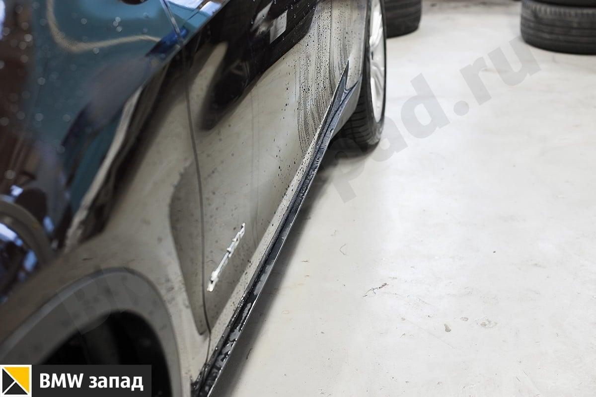 алюминиевые пороги на BMW X5