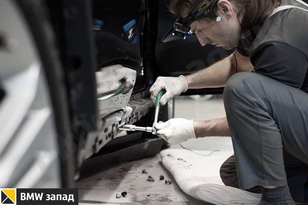 Установка порогов BMW X5 F15