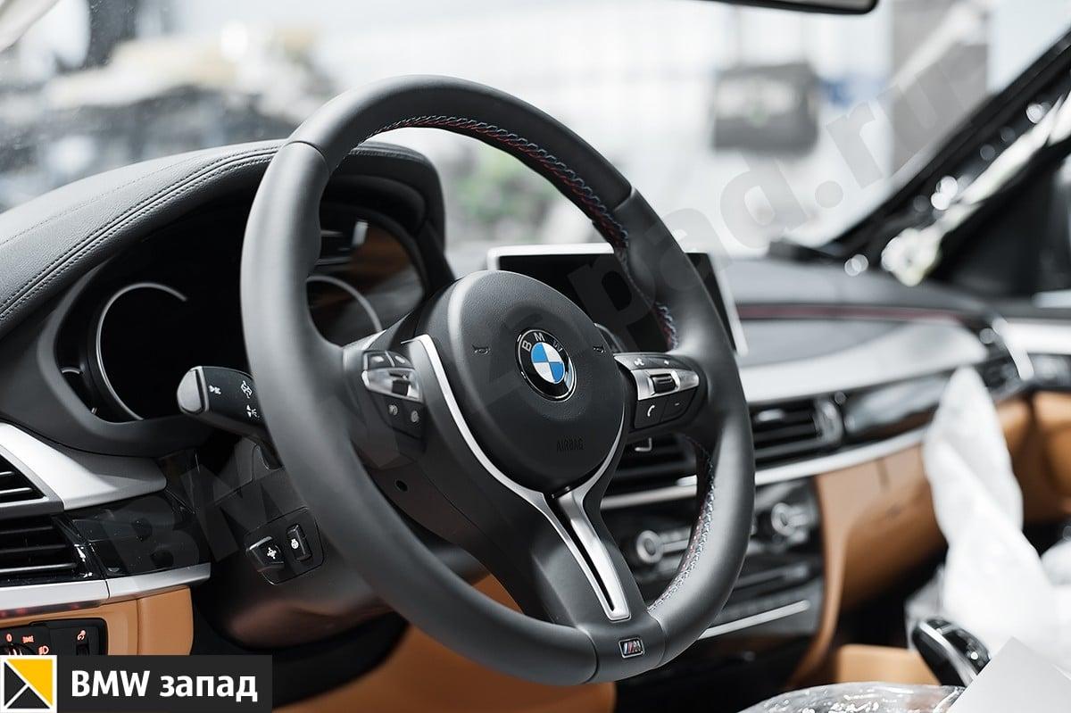 Установка М руля BMW