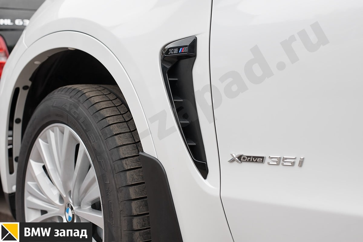 Черные жабры Performance BMW X5 F15