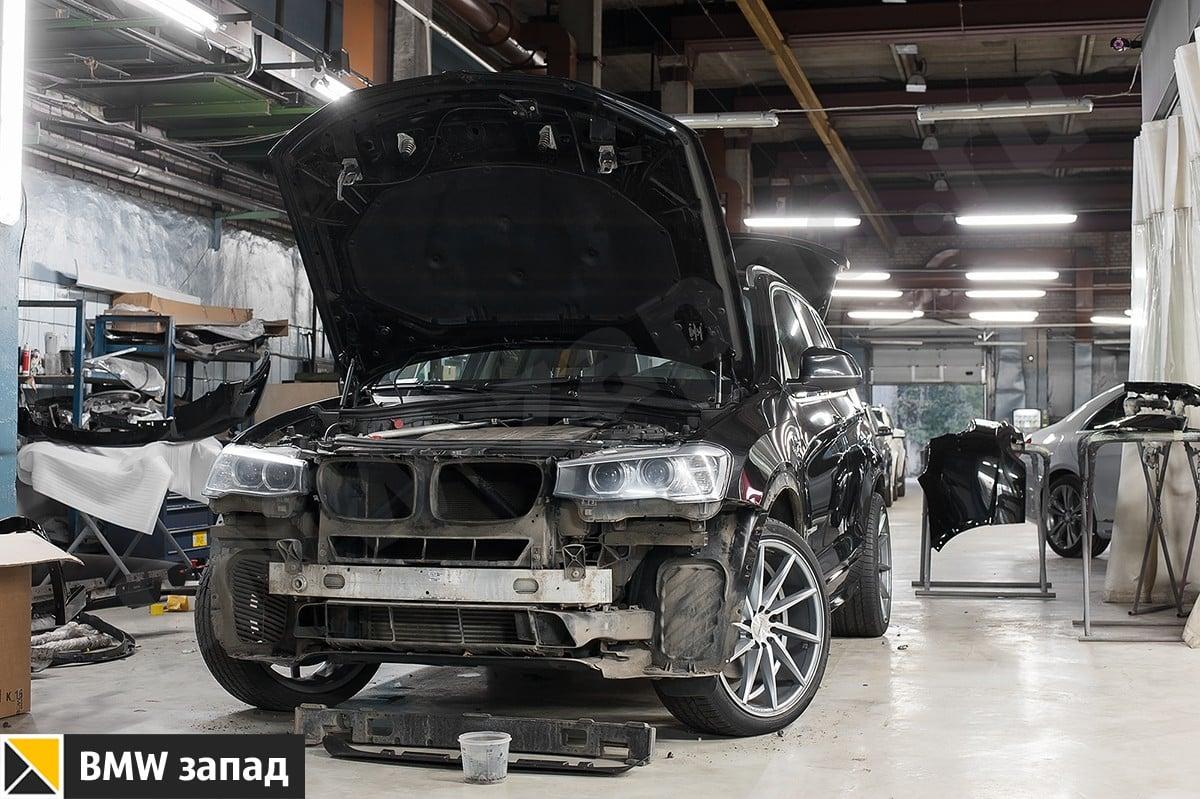 Установка М обвеса на BMW X3 F25