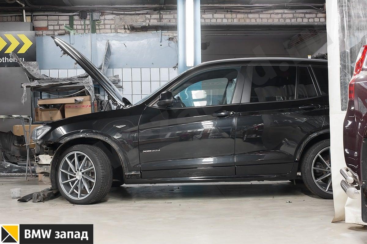 Установка М обвеса на BMW X3 F25 цены
