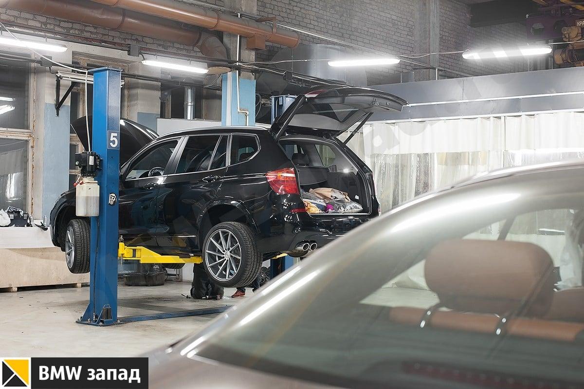 Поставить М обвес на BMW X3