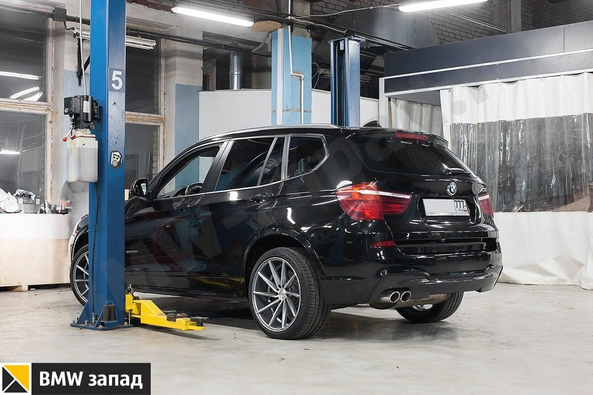 Установить М обвес на BMW X3